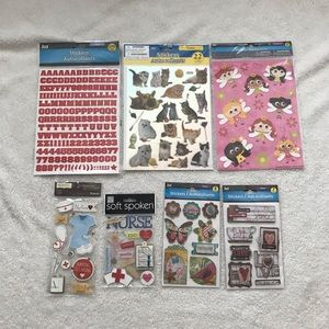 Other - Scrapbooking Stickers - Set of 7 Packs